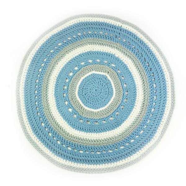 Dywan niebieski